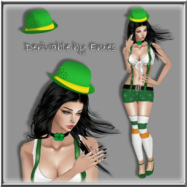 ST.PATRICK'S DAY HAT MESH FEMALE 2018