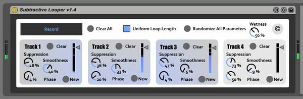 4-Track Randomly Subtractive Looper