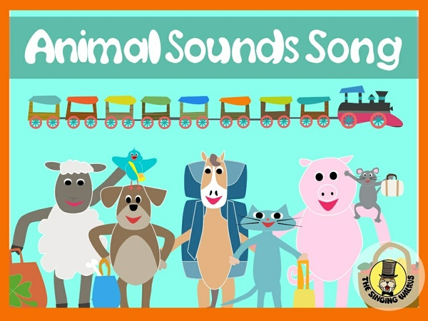 Animal Sounds Song Video (mp4)