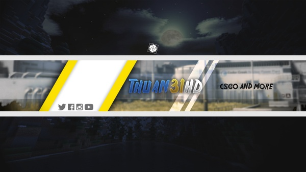 Simple YT Banner