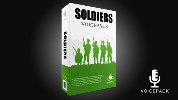 SOLDIER VOICES - Royalty Free Voice SFX Pack