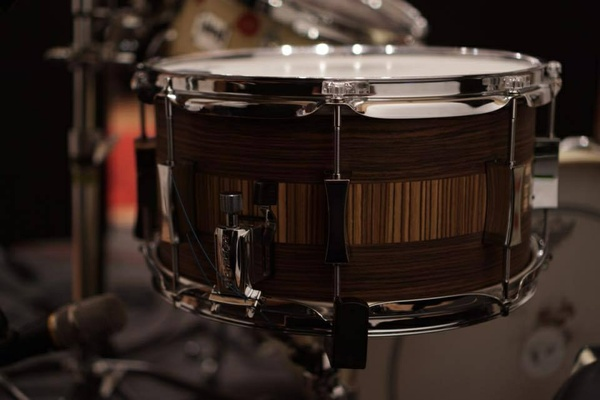 #3 Pork Pie Maple 13x7 Snare Sample
