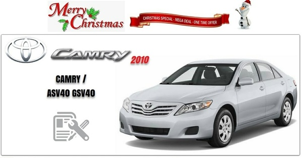 Toyota Camry 2010 GSIC ASV40,GSV40 Workshop Manual
