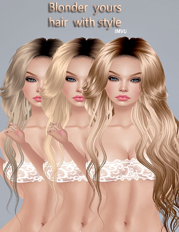 ❀ Hairs*ᴮˡᵒᶰᵈᵉʳ ❀-125