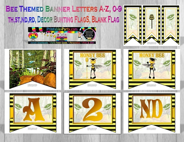 HONEYBEE-THEMED-PRINTABLE-PARTY-BANNER-LETTERS