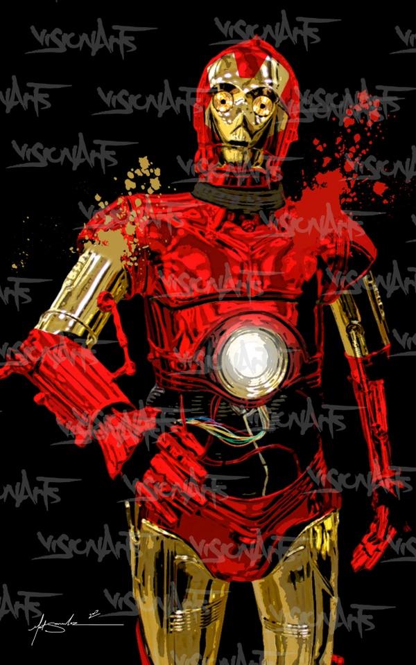 Mark C3PO Art Poster