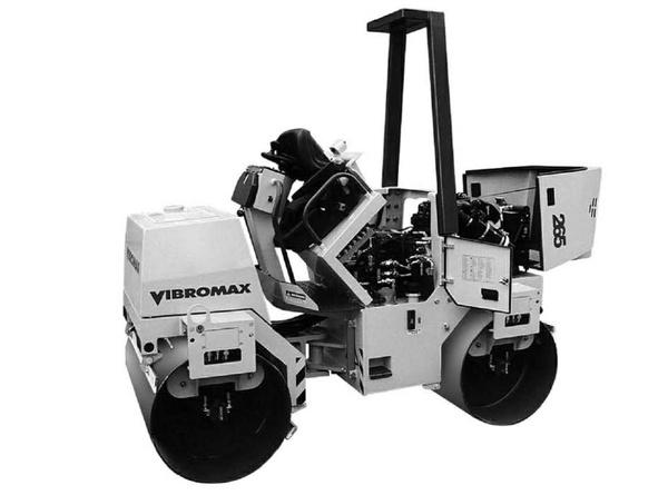 Vibromax 255 265 Tandem Roller Service Repair Manual Download