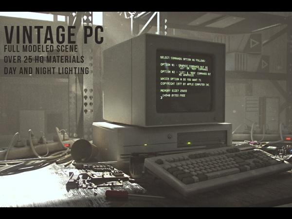 Vintage PC -Vray