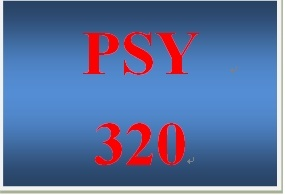 PSY 320 Week 5 Company Motivational Profile Paper and Presentation