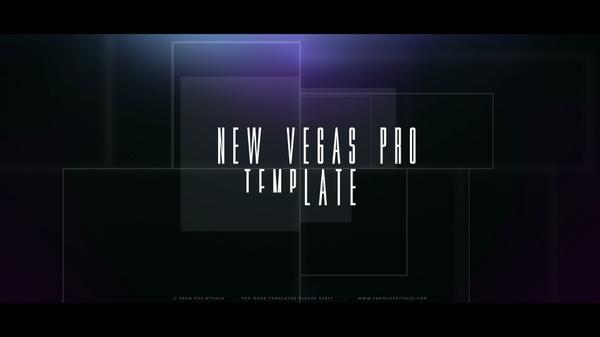 Vegas Pro13 - Pixel Portal Opener/Slideshow Template (FHD, 2K, 4K)