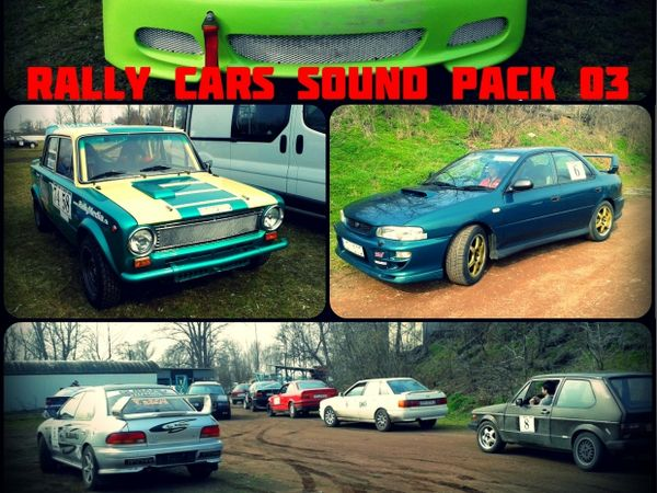 Rally Cars Sound Pack 03