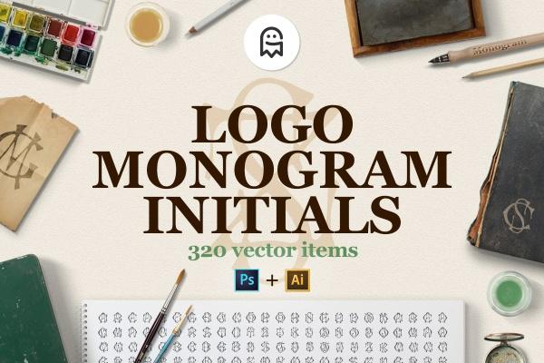 Logo Monogram Initials