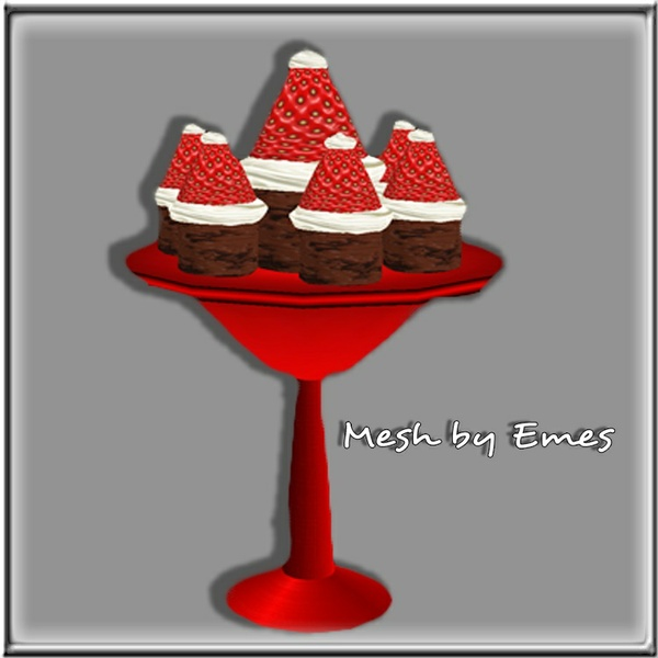 Mesh-Santa Brownies V1