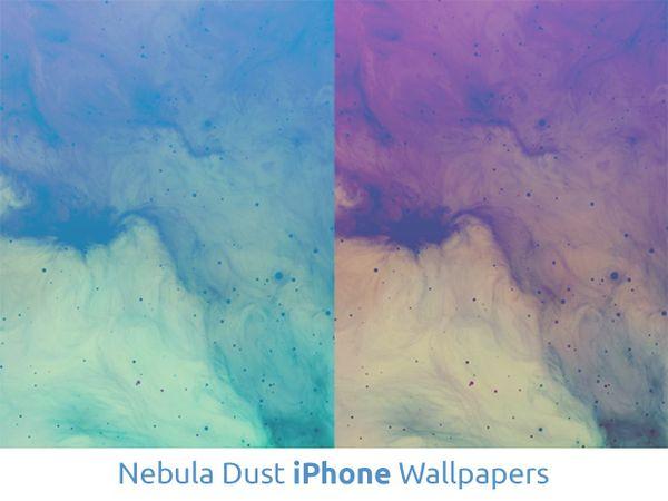 Nebula Dust iPhone Wallpapers