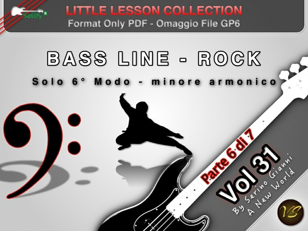 LITTLE LESSON VOL 31 - Format Pdf (in omaggio file Gp6)