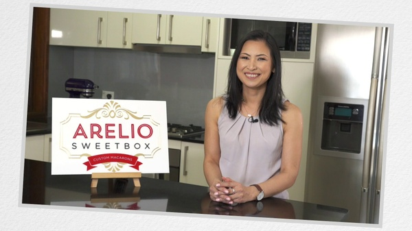 Arelio Sweetbox Italian Macaron Video Tutorial