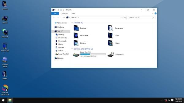 Se7en Blue IconPack