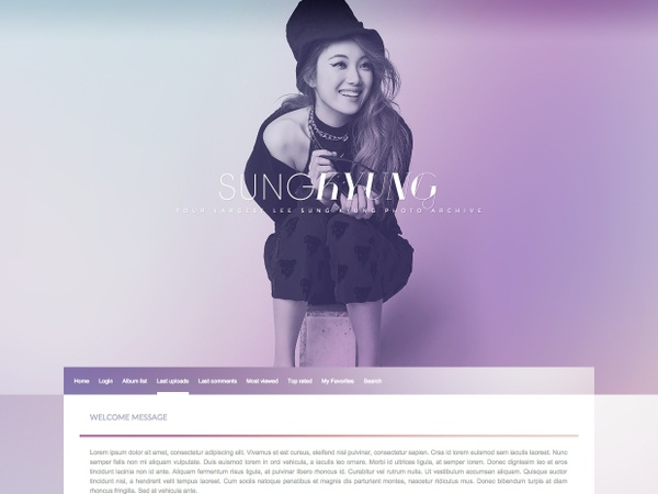 Coppermine / Premium Theme #02