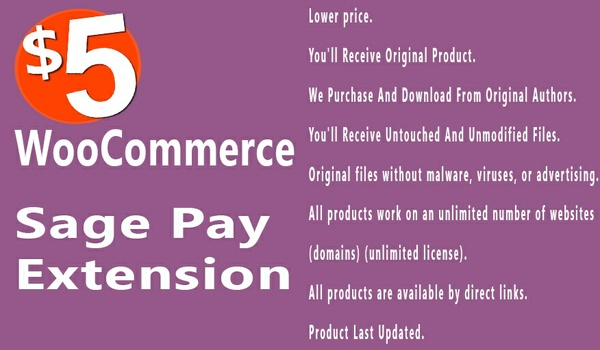 WooCommerce SagePay Form SagePay Direct 3.10.3 Extension