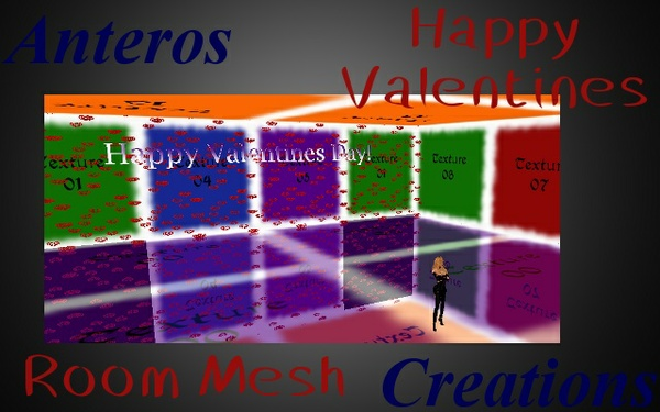 Room Mesh -- Happy Valentines Day