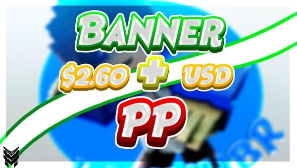 Banner +  PP Con tu Skin a solo $2.50 USD