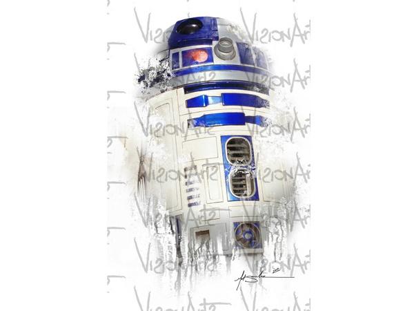 R2D2 Art Poster