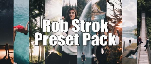 Creator Presets x Rob Strok Lightroom Presets