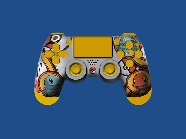 Free Pokemon PS4 Controller Template
