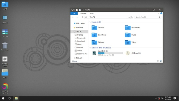 Numix Windows Blue IconPack