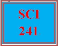 SCI 241 Week 2 WileyPLUS® Week 1 & 2 Quiz