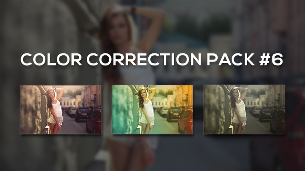 Photoshop Color Correction Pack #6