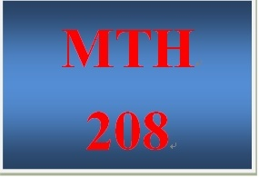 MTH 208 Week 1 participation Humanities