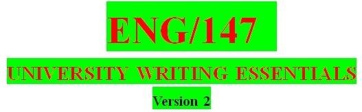 ENG 147 Week 2 Narrow Your Topic Worksheet