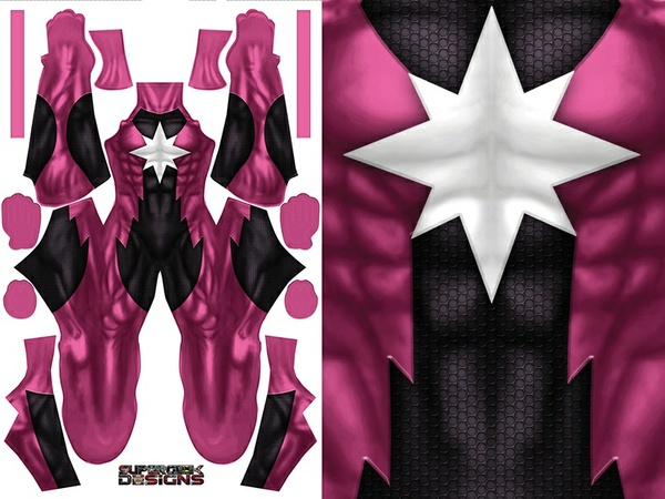 STAR SAPPHIRE (male version) pattern file