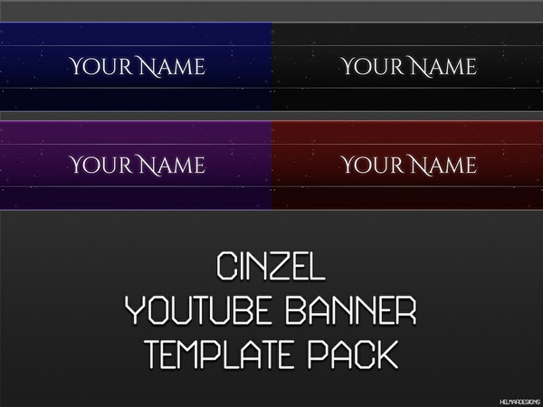 Cinzel YouTube Banners