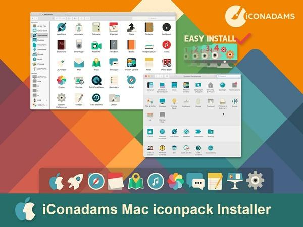 iConadams Mac iconpack installer