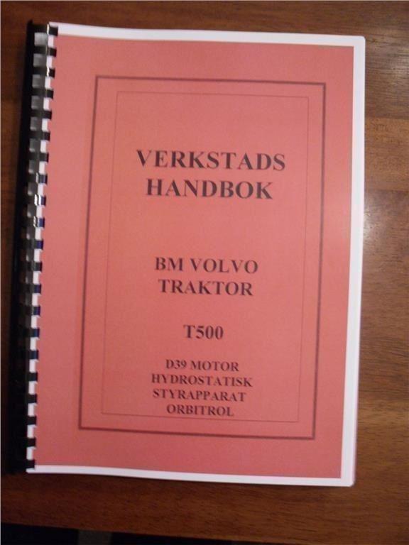 Volvo BM T500 - verkstadshandbok - svenska - 320 sidor