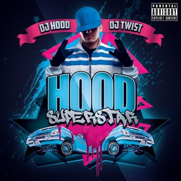 Hood Superstar Mixtape Cover Template PSD
