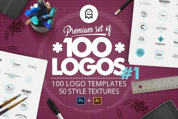 Premium set of 100 Logos #1