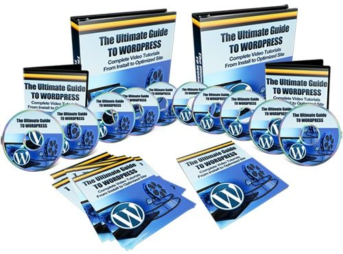 Wordpress Basics Video Training with Resell Rights
