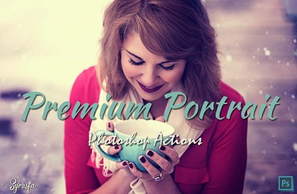 40 Premium Portrait Photoshop Action