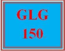 GLG 150 Week 4 Earth's Dynamic Ocean and Atmosphere