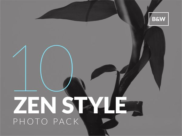 Zen Style Photo Pack