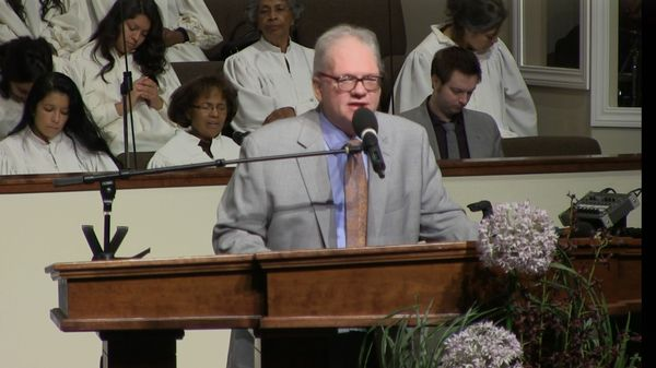 "Rev. Tony Bailey 10-26-14 Am "" The Power of God's Spoken Word"" MP4"