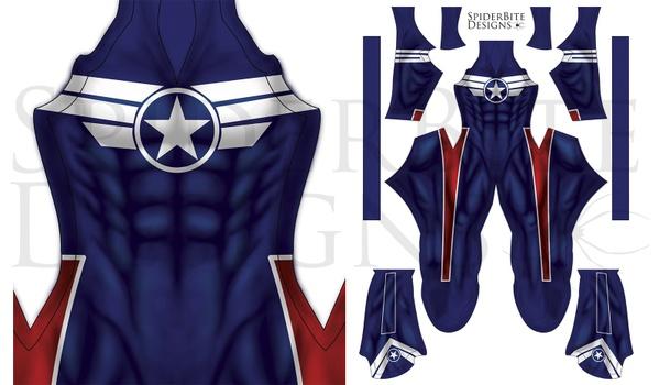 Captain America Director of SHIELD costume