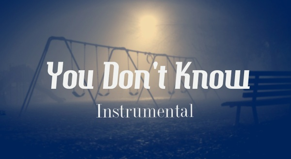 You Don't Know - Dark Hip Hop | Hard Choir Aggressive Rap Beat Instrumental