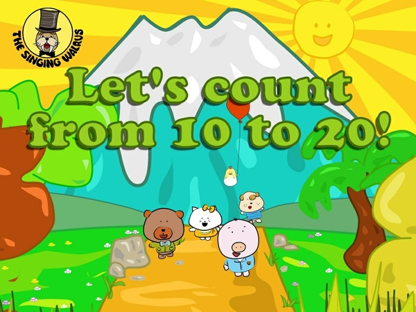 Let's Count from 10-20 video (mp4)