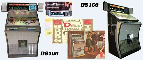 Seeburg  DS100, DS160  (1961–1962)