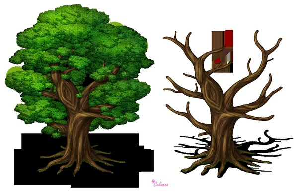 "Celianna's Parallax Tiles ""Mana Tree"""