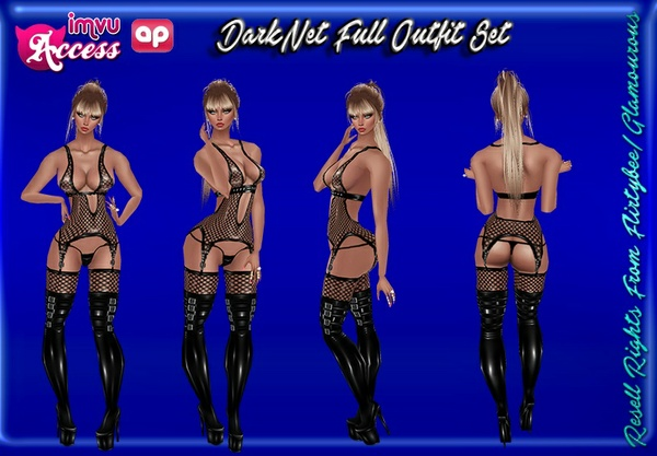 DarkNet Full Outfit Set Catty Only!!!